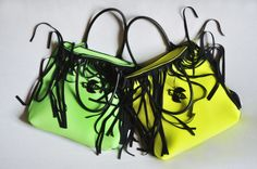 FRAN2 in Green fluo and Yellow Lemon fluo