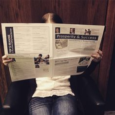 Tip for using tools: Leave newspapers in local businesses and offices, and always include your contact information. You never know who might pick one up! #Isagenix #marketing #newspapers