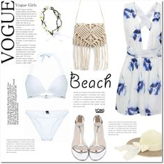yoins by yoinscollection on Polyvore featuring beach and summerdate