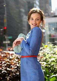 """Leighton Meester portrays the character of Blair Waldorf in the episode """"Bad News Blair"""" in the tv show """"Gossip Girl"""". Gossip Girl Blair, Moda Gossip Girl, Estilo Gossip Girl, Blair Waldorf Gossip Girl, Gossip Girls, Leighton Meester, Style Blair Waldorf, Blair Waldorf Outfits, Blair Waldorf Fashion"""