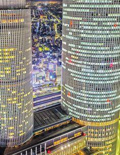 JR Central Towers, Nagoya, Japan 名古屋 JRセントラルタワーズ