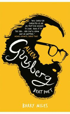 Allen Ginsberg Beat Poet by Barry Miles Graphisches Design, Buch Design, Graphic Design, Design Blogs, Design Ideas, Allen Ginsberg, Best Book Covers, This Is A Book, Cool Books