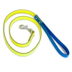 WARE of the DOG || Neon Leather Dog Leash