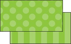 Green Sassy Solids Double Sided Border