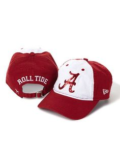 Victoria's Secret PINK University of Alabama Baseball Hat #VictoriasSecret http://www.victoriassecret.com/pink/university-of-alabama/university-of-alabama-baseball-hat-victorias-secret-pink?ProductID=69642=OLS?cm_mmc=pinterest-_-product-_-x-_-x