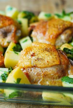 Cilantro-Lime Chicken and Potatoes