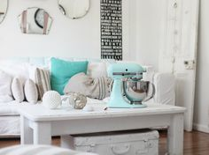 beach style decorating | She made it. She was a long long time coming…