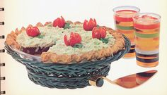 Tuna & Jello Pie - 1965 Betty Crocker's Dinner in a Dish cookbook wtf was they thinking