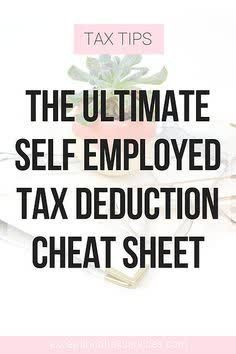 The ultimate independent cheat sheet for prints Business Tax Deductions, Small Business Tax, Bookkeeping Services, Budgeting Money, Cheat Sheets, Cheating, Self, Tax Debt, Income Tax