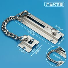 19.00$ Buy now - //alihti.shopchina.info/go  sc 1 st  Pinterest & Free Shipping Stainless Steel Anti-theft Door Chain Installed Anti ...