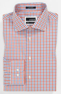 1901 Slim Fit Dress Shirt available at #Nordstrom ; Cotton