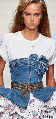 Pin Logo, Casual Jeans, Color Themes, Ruffle Blouse, Shades, Denim, Beautiful, Tops, Women
