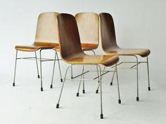 "4 x Morris of Glasgow ""Toby""chairs - rare versions - Neil Morris H. Morris"