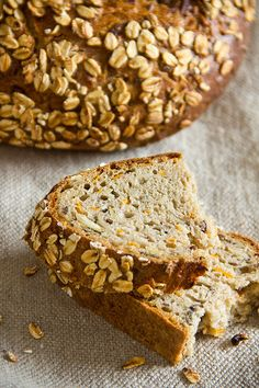 Aromatic through the seeds: Weinheimer carrot bread - option translate Our Daily Bread, Challah, Bread Rolls, Bread Baking, Banana Bread, Carrots, Bakery, Healthy Recipes, Homemade