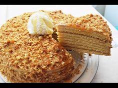 Rus Pastası - Medovik Tarifi (Ballı Pasta) - Pratik Tarifler - YouTube