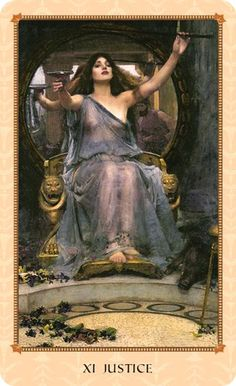 XI Justice in the Tarot of Delphi
