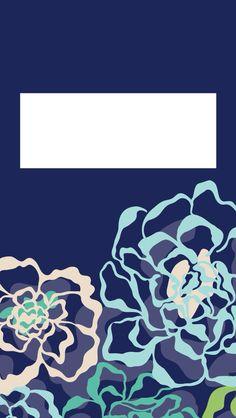 Binder Cover Vera Bradley:Katalina Blues