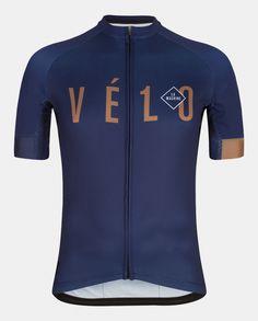 Vé1o Wielershirt + Bib shorts Bundel | La Machine Cycle Club
