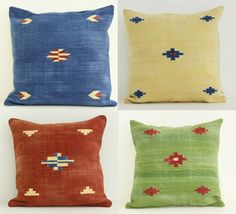 Harmony of hues  #kilim #dhurry #cushion #Artofrajasthan #india #lozenges #geometric #pillow #throw #decor #home #indoor #indigo #red #green #offwhite #white #jaipur #rajasthan #craftsmanship #pillow