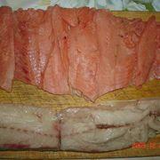 Рыбный рулет из горбуши  и скумбрии