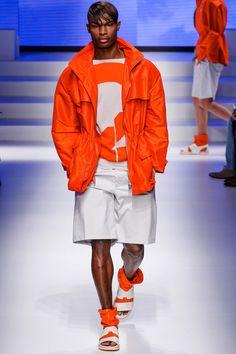 Salvatore Ferragamo Spring 2014 Menswear thunderbird chic sport luxe