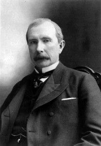 Rockefeller was well known in the Standard Oil Company