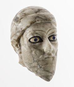 Head of a King,  ca. 2100 BCE, Bismaya (ancient Adab), Iraq. Oriental Institute Museum A173. University of Chicago © 2010 The Oriental Institute, The University of Chicago