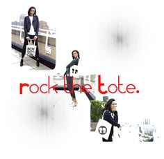 """""""Rock the Tote."""" by boymeetsgirlusa ❤ liked on Polyvore featuring Boy Meets Girl"""