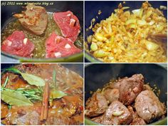 Pracovní postup... Chicken Gyros, Food And Drink, Beef, Meat, Chicken Kebab, Steak