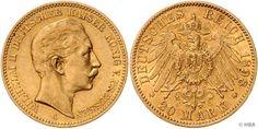 PREUSSEN, Wilhelm II., 20 Mark, Gold, 1898 A, sehr schön.  Dealer HBA  Auction Minimum Bid: 200.00EUR