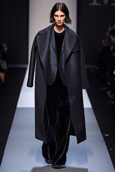 Max Mara black sparkly coat
