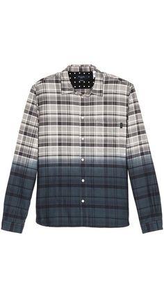 Paul Smith Jeans Plaid Ombre Shirt. $58.50. #fashion #men #shirt