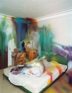 Bedroom. Art.
