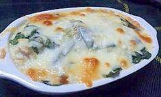 「簡単☆ほうれん草と豆腐の和風グラタン」混ぜてオーブンにお任せの簡単レシピです☆【楽天レシピ】