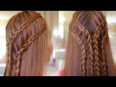 Two Tier Lace Braids Hair Tutorial - #hairtutorial #hairbraids #hairstyle #hair #haitutorial - Love beauty? Go to bellashoot.com for beauty inspiration!