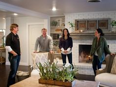 """Fixer Upper: Midcentury """"Asian Ranch"""" Goes French Country 