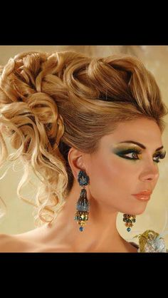 Arabic hairstyles and Hairstyles on Pinterest