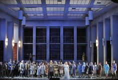 Lohengrin from San Francisco Opera. Production by Daniel Slater. Sets by Robert Innes Hopkins.