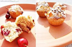 muffins with coconut and cherries | Kokos-Kirsch Muffins