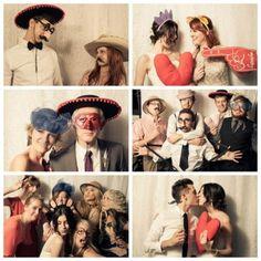 Wedding photobooth fun!