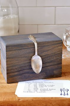 Bent Spoon Recipe Box
