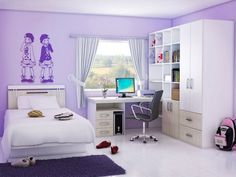 Girl Bedroom Designs For Small Rooms