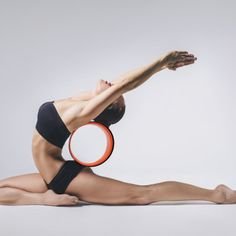 A wheel that's intended to improve flexibility and balance.