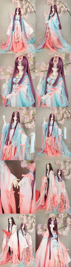 BJD Clothes Girl Ancient Suit for MSD/SD/70cm Ball-jointed Doll_MSD_MSD_CLOTHING_Ball Jointed Dolls (BJD) company-Legenddoll