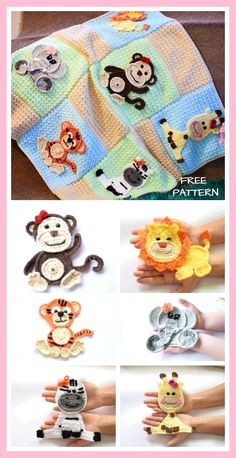 Crochet blanket patterns free 706572629026712719 - Jungle friends Blanket Free Crochet Patterns Jungle friends Blanket Free Crochet Patterns Source by Crochet Applique Patterns Free, Crochet Blanket Patterns, Baby Blanket Crochet, Crochet Stitches, Free Crochet, Knitting Patterns, Crochet Afghans, Knitting Ideas, Knit Crochet