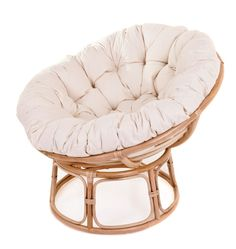One of our most popular versatile coloured Papasan Chairs finished with a Beige Papasan Cushion. Comfy Bedroom Chair, Dining Room Chair Cushions, Chairs, Papasan Cushion, Papasan Chair, Hangout Room, Replacement Cushions, Light Oak, My New Room