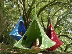 Modern Hammock: Cacoon Tonio wants one :)