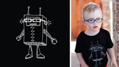 Eye Power Kid's Wear, T-shirts designed for young kids who wear glasses