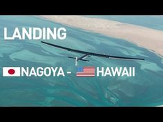 LIVE right now!: Watch Solar Impulse's historical first landing in less than an hour!  8th Leg from Nagoya to Hawaii with pilot Andre Borschberg. #solar #climate