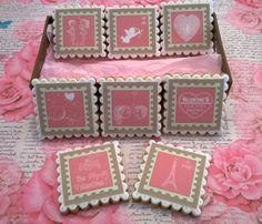 Caja de galletas de San Valentin